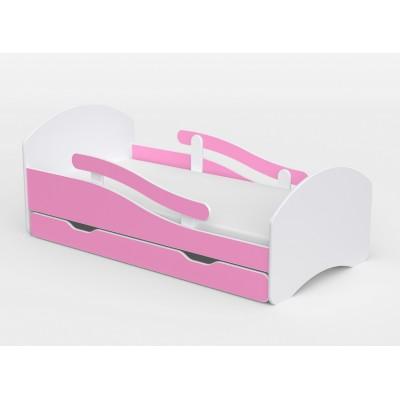 Lastevoodi Pink 70x140+madr..