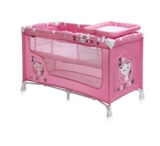 Reisivoodi Nanny Pink Kitten 60x120