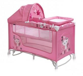 Reisivoodi Nanny Pink Kitten Plus 60x120