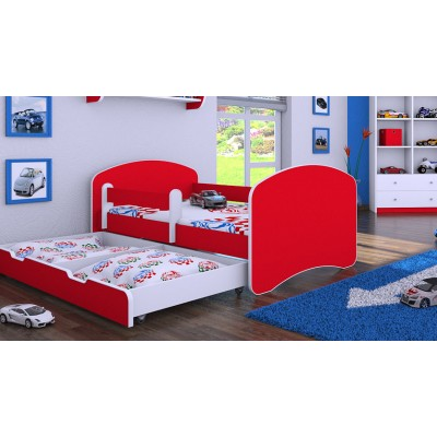 Lastevoodi Color Red 75x145..
